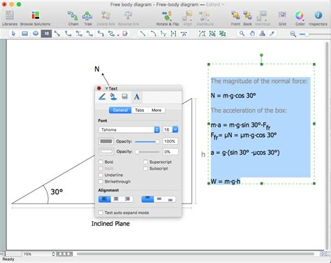 free software for drawing physics diagrams smartdraw