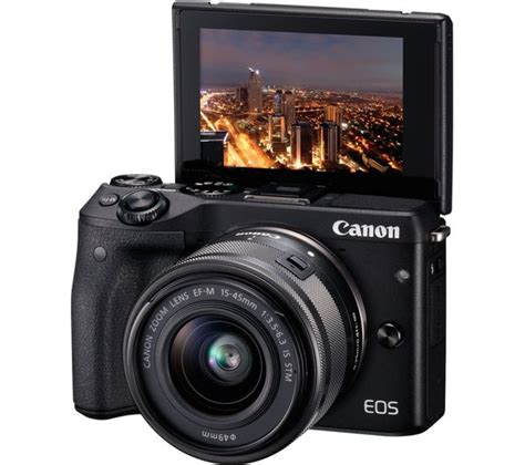 Canon Eos M3 Only buy canon eos m3 mirrorless with 15 45 mm f 3 5 6 3