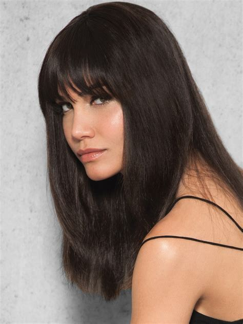 Hairstyle Wigs With Bangs by Clip In Human Hair Fringe By Hairdo Wigs The