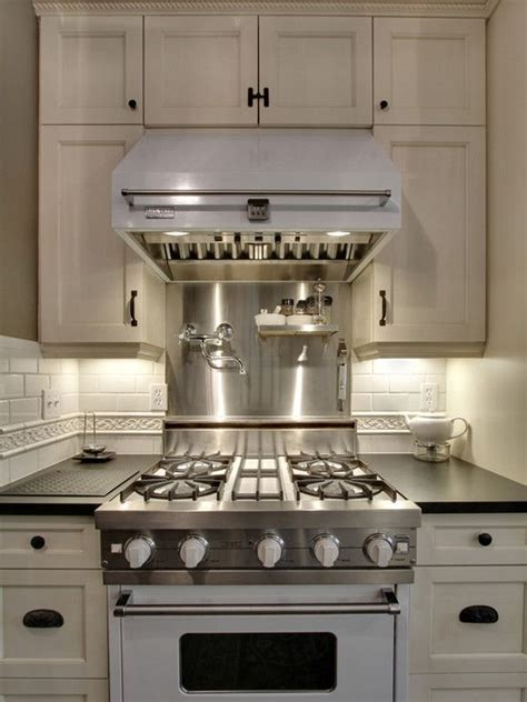 small white kitchen with steel hood 29 best a range of color images on pinterest spaces