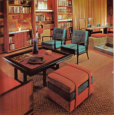 retro home interiors groovy interiors 1965 and 1974 home d 233 cor
