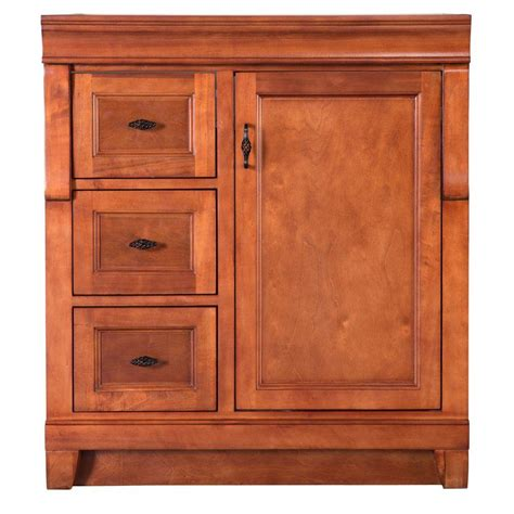 shop diamond freshfit britwell 25 in x 34 in cream oak wood vanity storage cabinet for blue bathroom in