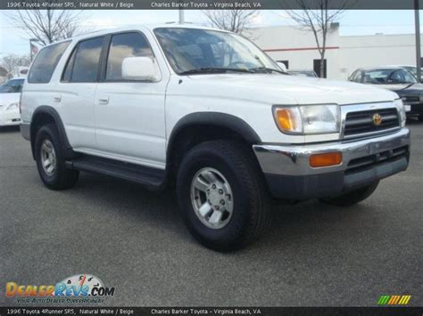 1996 Toyota 4 Runner 1996 Toyota 4runner Sr5 White Beige Photo 1