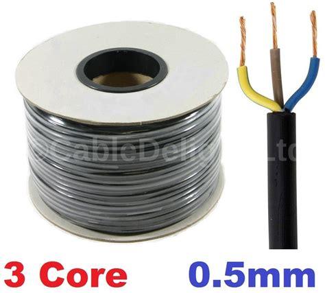 3 0 5mm 3 pvc cable 1m 5 100m flex
