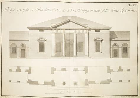 bagni di montecatini raccolta dei disegni delle fabbriche de bagni di