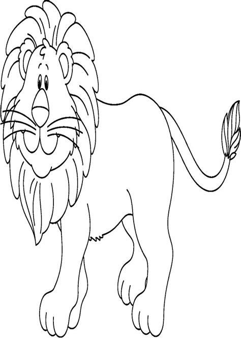 imagenes leones marinos para colorear leon salvaje para pintar leonyleona dibujo de una pareja