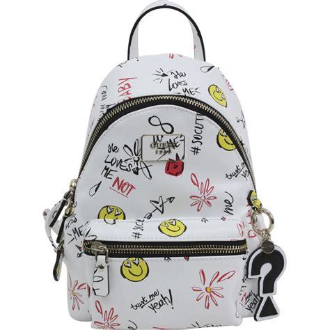 guess s cool school small leeza book bag backpack ebay
