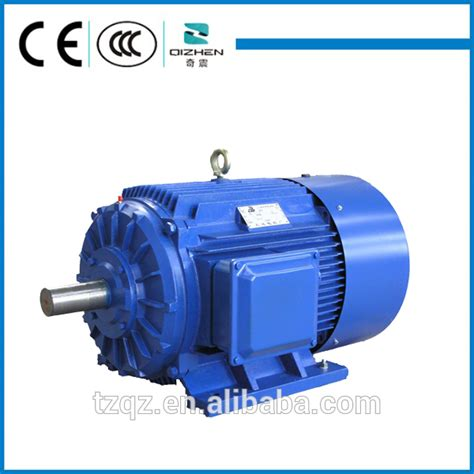 three phase squirrel induction motor 220 380v 0 55 200kw induction motor three phase squirrel cage induction motors from taizhou
