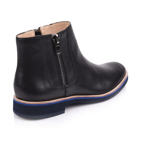 black leather chelsea boots shoes for footwear suppliers