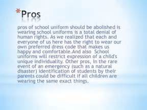 Persuasive Essays On School Uniforms by Free Essays On Against School Edu Essays