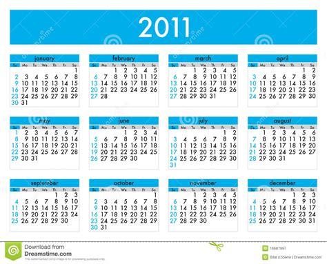 calendario del contribuyente enero 2011 calend 225 rio 2011 fotografia de stock royalty free imagem