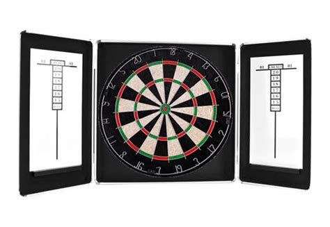 dartboard cabinet with darts grabone nz