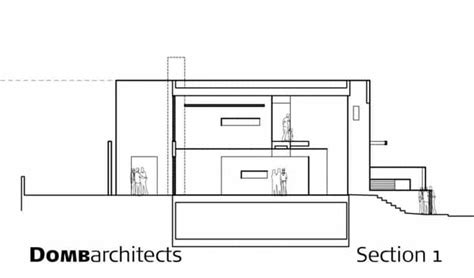dg house domb architects architecture architectural drawings and arch modern and simple architecture dg house by domb