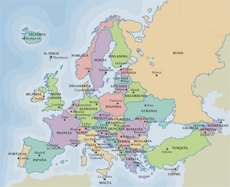 section in spanish cpi tino grand 237 o bilingual sections maps of europe and spain