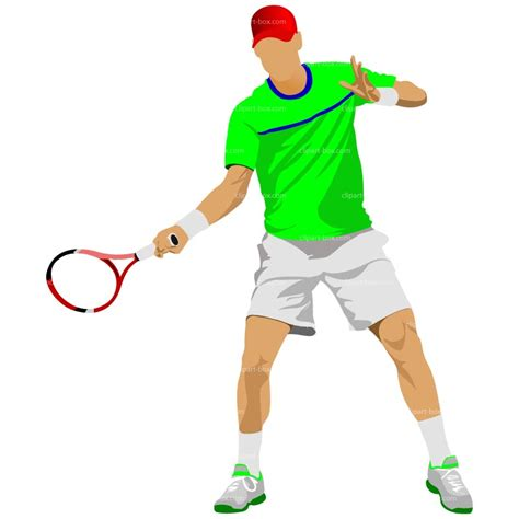 tennis clipart clipart tennis player 101 clip