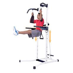 conquer 6 in 1 inversion table power tower home home equipment workout stations sears