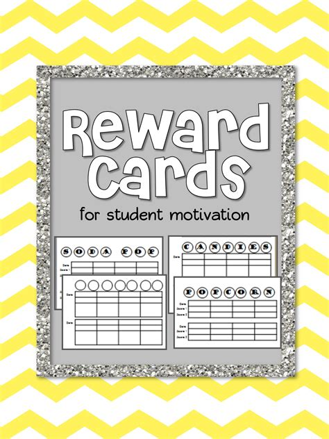 cards for students from mind sparks sparking student motivation reward cards