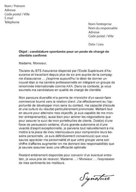 Exemple Lettre De Motivation Sans Poste Precis