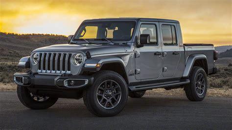 jeep gladiator  revealed wrangler ute officially