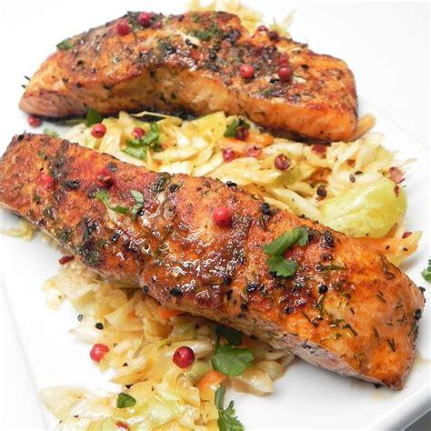 printable salmon recipes grilled szechuan salmon recipe all recipes uk