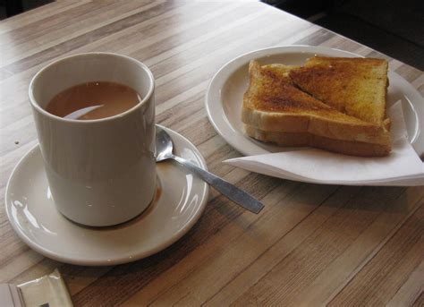 Buttered Bread In Toaster The Perfect Tea Amp Toast The Official Website Of Ben Salter