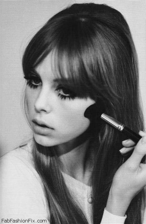 hair and makeup in the 60 s 1960s mod inspired makeup tutorial by maya mia fab