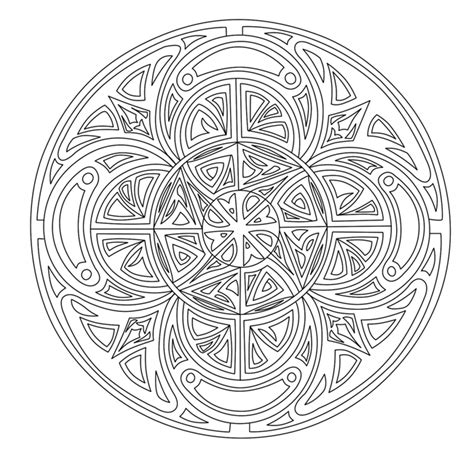 Free Printable Mandala Coloring Pages For Adults Best Complex Coloring Pages