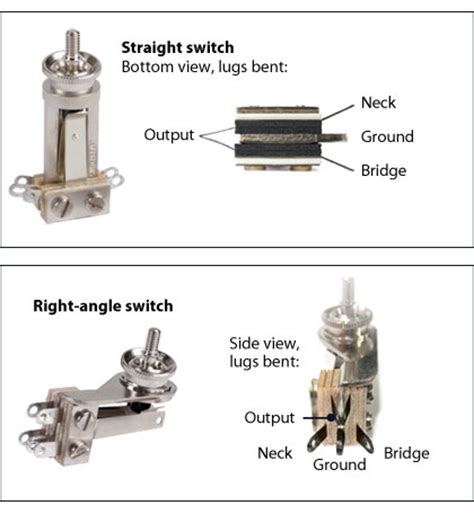 switchcraft 3 way toggle switch stewmac
