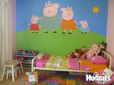 Peppa Pig Room Decor Peppa Pig Room Inspiration For Bedroom Decor At Huggies Huggies Co Nz