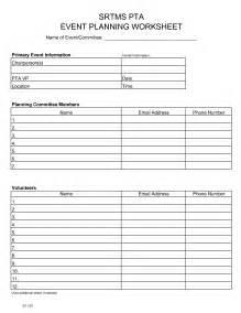 Pta Budget Template Event Checklist Spreadsheet Communication Plan Template Excel Event