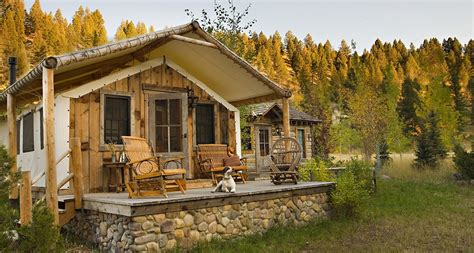 2 Bedroom Cabin Plans by Luxury Glamping Trapper Cabin The Ranch At Rock Creek
