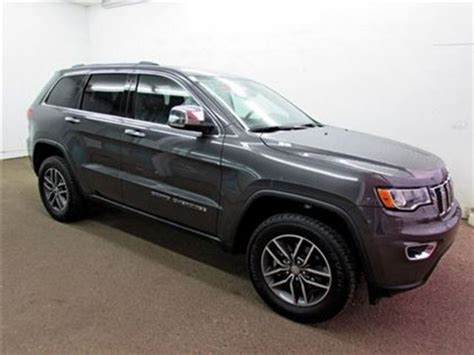 jeep cherokee grey 2017 2017 jeep grand cherokee limited grey touchdown auto
