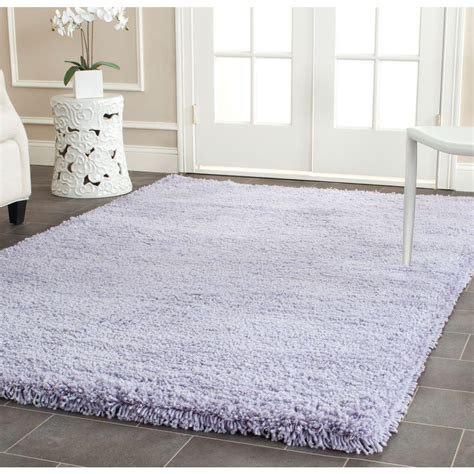 Lilac Area Rugs by Safavieh Classic Shag Lilac 5 Ft X 8 Ft Area Rug Sg140l