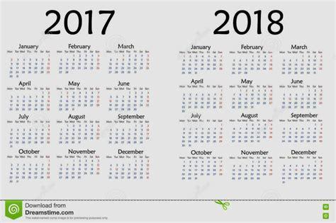 2018 Calendar United States Calendar For 2018 Year Creative Calendar Template