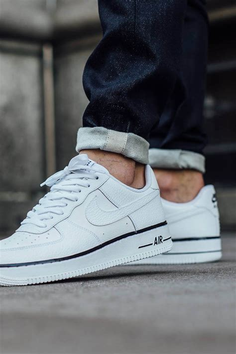 imagenes nike air force one nike air force 1 low white with black foxing stripe