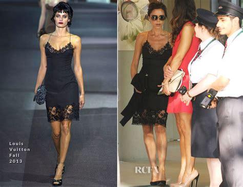 Who Wore Louis Vuitton Better Beckham Or Dita Teese by Beckham In Louis Vuitton Wimbledon S