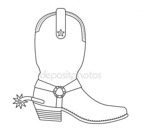 imagenes de botas vaqueras para imprimir botas vaqueras dibujo