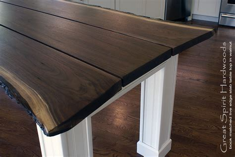 black walnut table top live edge slab dining tables walnut slabs and tops