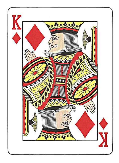 card blank template king of diamonds king and diamonds on
