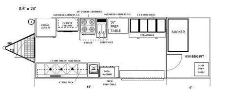 Bedroom Company 5208 by Food Truck Floor Plans Food Trucks Floor
