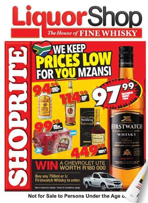 northern cape  state shoprite liquor deals  sep