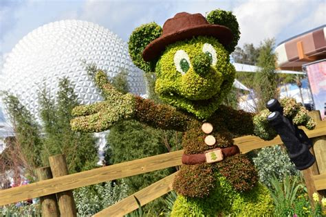 Epcot International Flower Garden Festival Plans Announced For 2017 Epcot International Flower Garden Festival