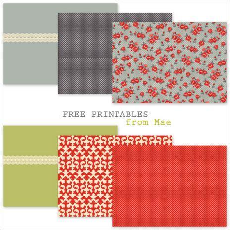Free Printable Craft Paper - free printables scrapbooks trials ireland