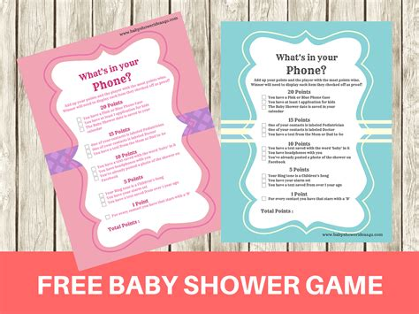 What S A Baby Shower by Free Printable Modern What S In Your Phone Baby Shower