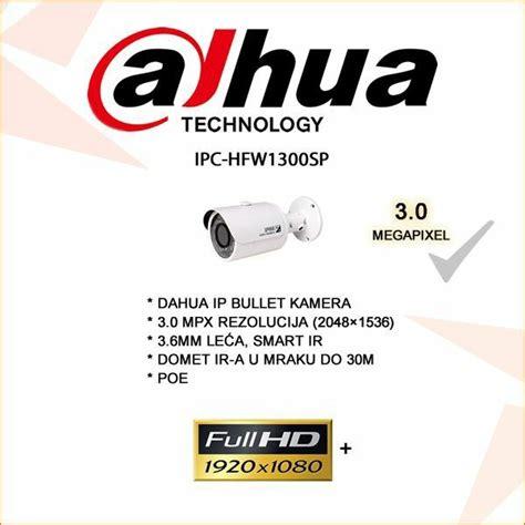 Best Kamera Sadap Ip Bullet 2 Mp hfw 1300sp dahua ip bullet kamera za videonadzor 3 0