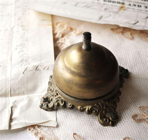 antique front desk bell for hotel inn retail