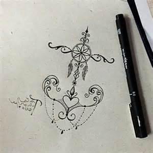Anker tattoo mandala ideen