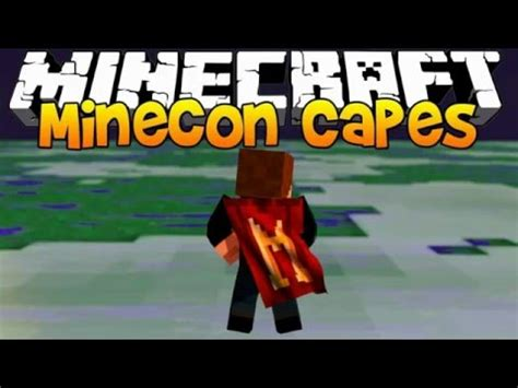 Free Minecon Cape Giveaway - minecraft 1 9 minecon cape giveaway youtube