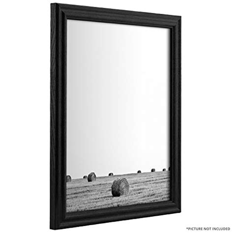 Wood Frame Poster 41 craig frames 200ashbk 0 75 inch wide picture poster frames