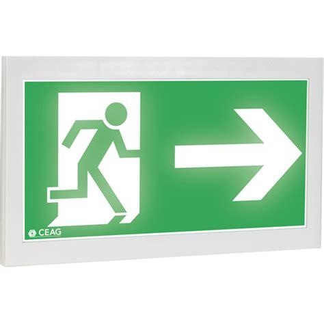 Addressable Emergency Lighting - addressable exit guideled cg s safety luminaires exit